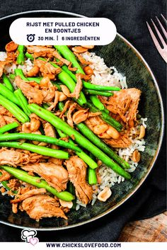 Healthy Meals, Healthy Recipes, Snack Recipes, Snacks, Isagenix, Pulled Pork, Love Food, Asparagus, Green Beans