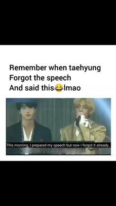 Kim Taehyung Funny, Bts Taehyung, Bts Jimin, Bts Memes Hilarious, Bts Funny Videos, Bts Billboard, Bts Qoutes, Bts Funny Moments, Bts Dancing