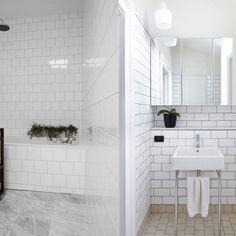 small bathroom ideas metro tiles