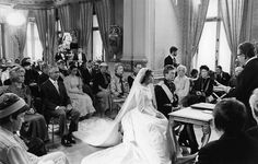 Wedding Henri and Maria Teresa, 1981 Maria Teresa, Royal Marriage, Grand Duke, Dearly Beloved, Robert Louis, Royal Weddings, Pretty Pictures, Royalty, Bride