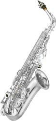 Yamaha YAS62S silver plated professional Eb alto saxophone outfit