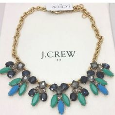 J Crew Bright Jade statement Hummingbird Necklace Brand New with Tags & Pouch! Sold out! Beautiful statement necklace!! Will ship out same day or next day! J. Crew Jewelry Necklaces