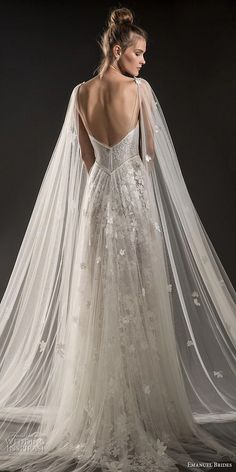 Emanuel Brides 2018 Wedding Dresses emanuel brides 2018 bridal sleeveless thin strap deep plunging sweetheart neckline full embellishment tulle skirt romantic sexy soft a line wedding dress medium train bv — Emanuel Brides 2018 Wedding Dresses Wedding Dresses 2018, Bridal Dresses, Vestidos Chiffon, Tulle Wedding Skirt, Dream Dress, Bridal Collection, The Dress, Dress Tops, Wedding Styles