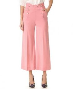 Temperley London Wide Leg Trousers