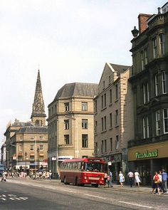 Dundee High Street, 1984 | In this view towards the High Str… | Flickr Dundee City, Online Scrapbook, Great Britain, Old Photos, Scotland, Old Things, Street View, Broken Hearted, Places