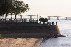Las 7 Puntas, llamado asi, la tierra se filtra al rio Parana. Son 7 y estan representadas en el escudo de Corrientes, Argentina
