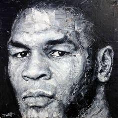 "Saatchi Art Artist Paul Daniels; Painting, ""Mike Tyson ""Iron Mike"" (SOLD)"" #art"