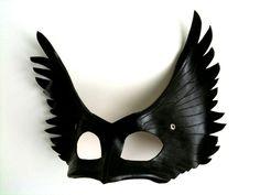 Angel Leather Mask. $60.00, via Etsy.