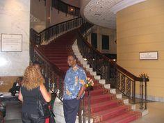 Me In lobby of Nairobi Hilton