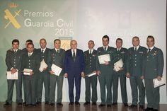 El ministro del Interior, Jorge Fernández Díaz, ha presidido esta mañana el acto de entrega de los Premios