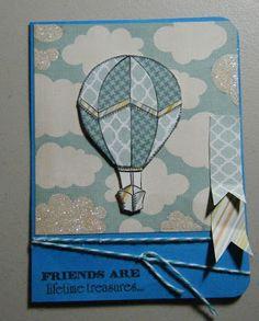 A Hot Air Balloon Card