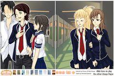 Manga Creator:School days page.2 Screen shot 1