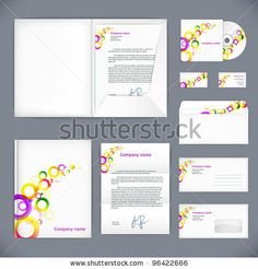 Business Style, Vector Corporate Identity Template. Eps10 - 96422666 : Shutterstock