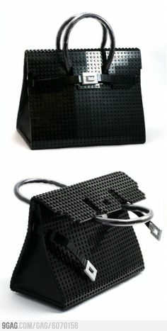 LEGO Herms Bag-thisi s the coolest lego art I have ever seen!