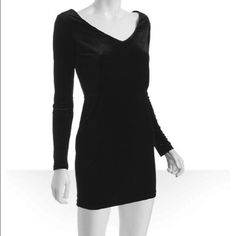BCBC velvet cocktail dress This super cute cocktail party dress is the perfect thing to wear to your next holiday party or birthday dinner • Color:Black • Lightweight velvet • Rear v-neck with three wide elastic bands across • Gathered at waist • Lined bodice • Slip-on • Size S measures 17%#189'' long from natural waist • Approximate measurements may vary by size, • Shell: 90% Polyester / 10% Spandex; Lining: 100% Polyester; style# 309009401 • Imported • Machine Wash or Dry Clean, only worn…