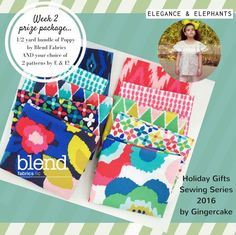 Gingercake patterns giveaway-week 2!
