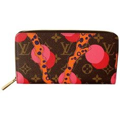 dc2208725699 Preowned Louis Vuitton Zippy Wallet In Monogram Ramages 2015 Limited...  ( 1