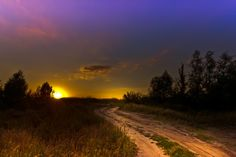 The road to steppes on sunset by Natalia Flora on 500px