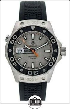 TAG Heuer WAJ1111.FT6015 - Reloj para mujeres, correa de goma color negro  ✿ Relojes para mujer - (Lujo) ✿