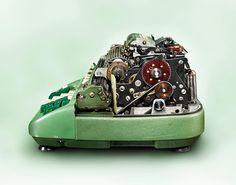 Revealing Layers of Complex Antique Machines  - San Francisco-based photographer Kevin Twomey