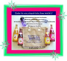 Enter to win Welch's summer tote n gift package!!