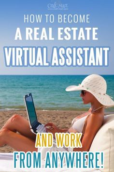 Learn how to become a real estate virtual assistant and work from home or any location. Get flexible hours and be your own boss! Stop dreaming about a perfect office - more and more people make full income from their kitchens and during overseas trips. Start now! Real Estate Assistant, Virtual Assistant Services, Ways To Save Money, How To Make Money, How To Become, Earn Money From Home, Make Money Online, Coaching, Software