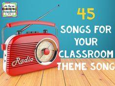 We love music in our classroom. In fact, we love it so much it plays almost all day long. In fact, we recently got new speakers and we've had some complaints about noise!  From our energetic and lo