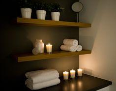 Plaats voor handdoekjes