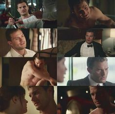Christian Grey from the Fifty Shades movie series <33333