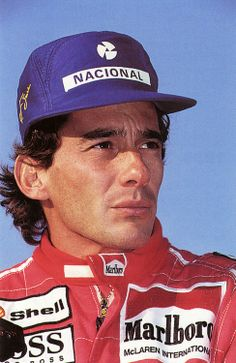 """amjayes:  """"I feel Ayrton's presence every day. I pray for him often. One day I know we will meet again."""" - Emerson Fittipaldi"""