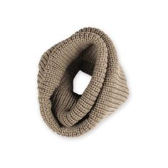 Single Loop Infinity Knit Scarf Tan ($18) ❤ liked on Polyvore featuring accessories, scarves, infinity scarf, knit circle scarf, knit scarves, chunky knit scarves and infinity scarves