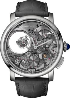 Rotonde de Cartier Minute Repeater Mysterious Double Tourbillon watch