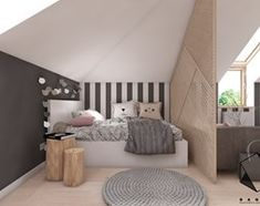 Teenage room / girl's room on Behance Room, Luxurious Bedrooms, Apartment Makeover, Teenage Room, Loft Room, Loft Conversion Bedroom, Room Furniture Design, Remodel Bedroom, Tween Bedroom Makeover