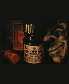 Snake Oil- my favorite Black Phoenix Alchemy Lab perfume.  I always get a ton of compliments when I'm wearing it.