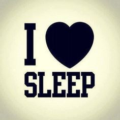 There is nothing better than when your sleep is sweet... zzzzz