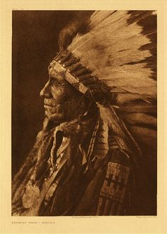 "American Horse - Ogalala, 1908. Photogravure. Curtis Caption: ""This subject is one of the four chiefs whose election is described in Volume III, page 16. He died in December, 1908."""
