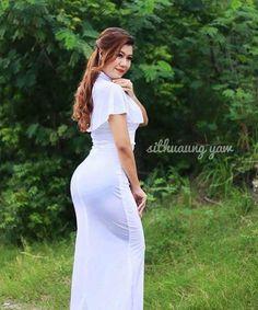 hot Burmese Girls, Myanmar Women, Pretty Asian, Beautiful Girl Indian, Indian Beauty Saree, Ao Dai, Sexy Asian Girls, Beautiful Celebrities, Asian Woman
