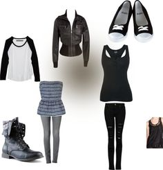 """""""Walking with shadows"""" by areuacat ❤ liked on Polyvore"""