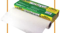 Gee, I wish I'd put wax paper on my cabinet tops.about 10 years ago! Great list of uses, but now I need to find my wax paper. Household Cleaners, Household Items, Housekeeping Tips, Wrap Recipes, Wax Paper, New Tricks, Organization Hacks, Cleaning Hacks, Helpful Hints