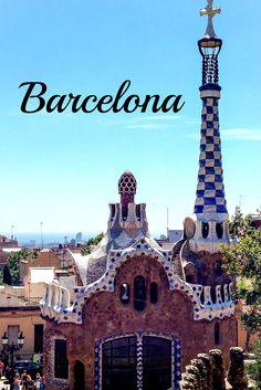 Blogartikel: Barcelona - Geheimtipps einer Einheimischen #Barcelona #ParkGuell…