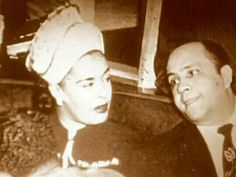 Billie Holiday And Her No Good Husband John Levy who Was Very Abusive To Her All The Time!!!