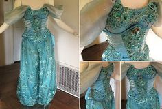 Glimmerwood | Costumes- modest jasmine costume beautiful & genius!
