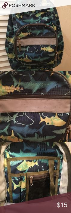 LL Bean kids backpack 🎒 Bought this for my son last year for school, minor wear on the outside pocket as seen in pic, other than that backpack is still in good condition inside and out! Accessories Bags