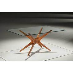 Base Mesa Jantar Retangular XS Cor Nogal - 14689 - SunHouse