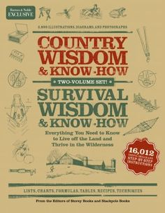 Want this! Country Wisdom and Survival Wisdom Box Set (B Exclusive Edition) doesn't come out until October 28!! :-(