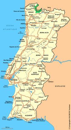Plan Portugal : cliquez sur la carte Portugal pour l'agrandir