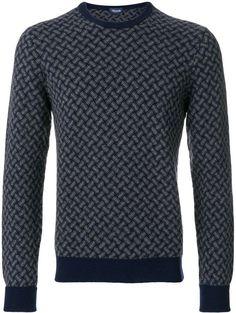 Drumohr weave pattern jumper