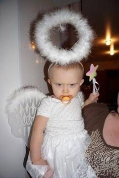 """""""Stop calling me your little angel!"""""""