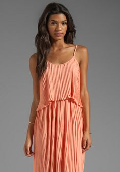 Lovers   Friends California Girl Dress in Coral