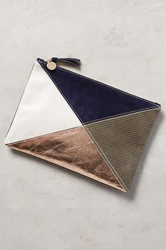 Clare V Intersection Pouch - anthropologie.com